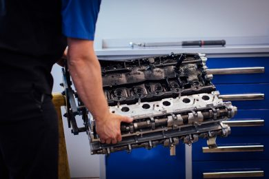 Complete Engine Assembly