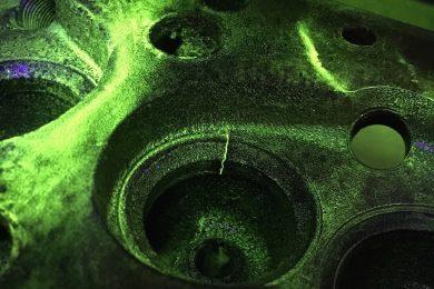 Cylinder Head Crack Testing